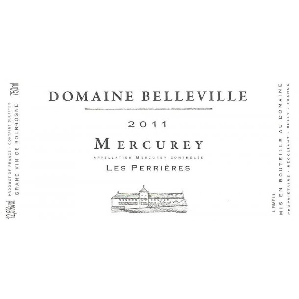 Domaine Belleville Mercurey