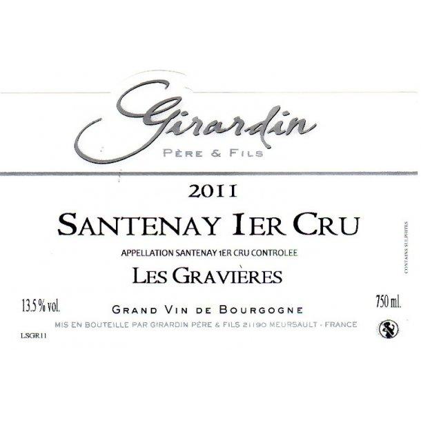 Domaine Girardin Père & Fils Santenay 1.cru