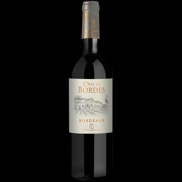 Chai de Bordes Quancard Bordeaux Rouge 37,5 cl.