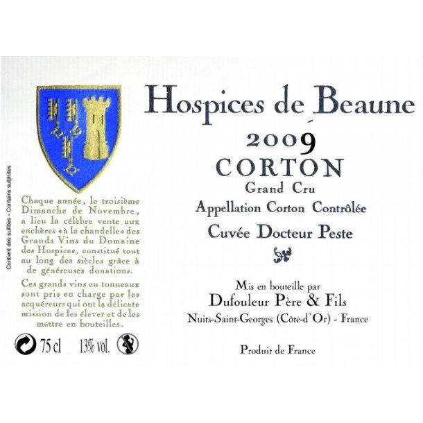Hospices de Beaune Corton Grand Cru Cuvée Docteur Peste årgang 2009