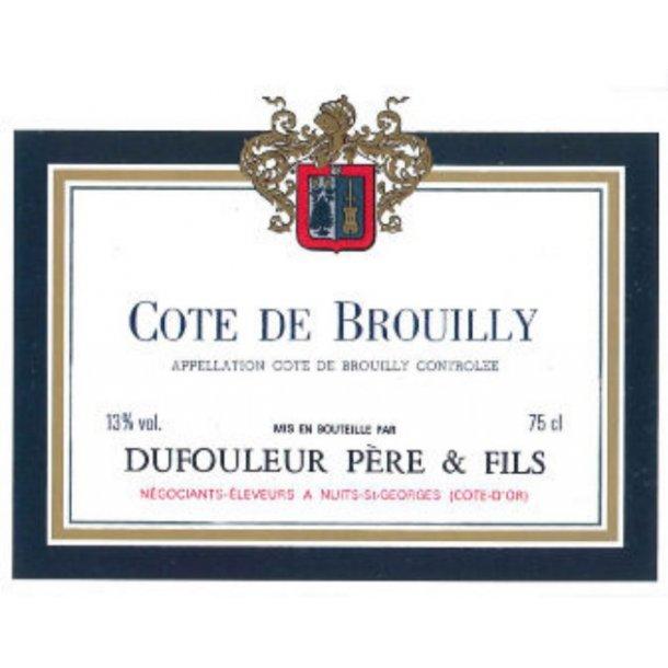 Dufouleur Père et Fils Cote De Brouilly årgang 2010