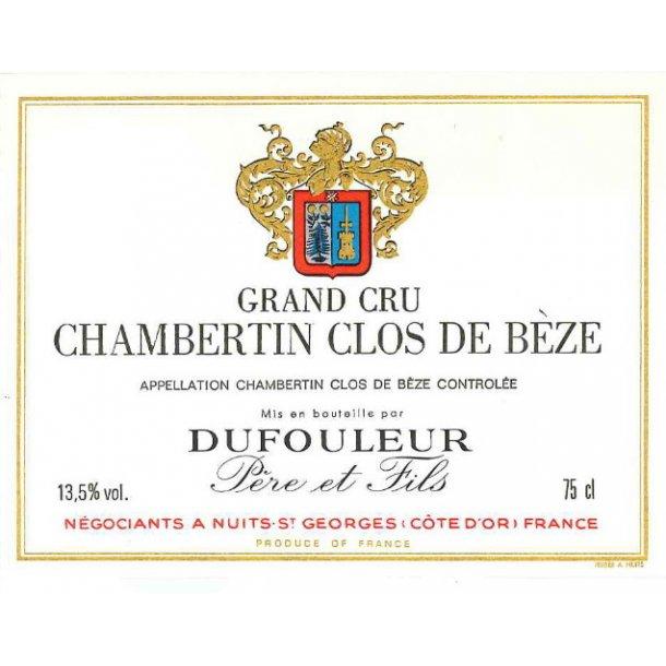 Dufouleur Père et Fils Chambertin Clos De Bèze Grand Cru årgang 2004