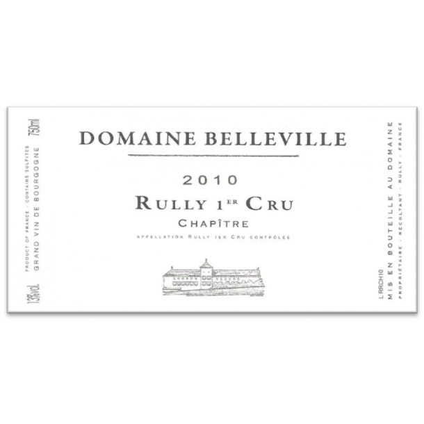 Domaine Belleville Rully 1.cru