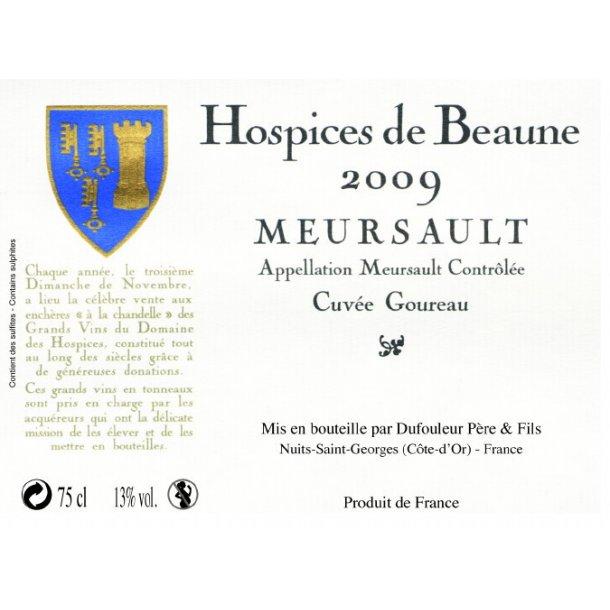 Hospices de Beaune Meursault Cuvée Goureau årgang 2009