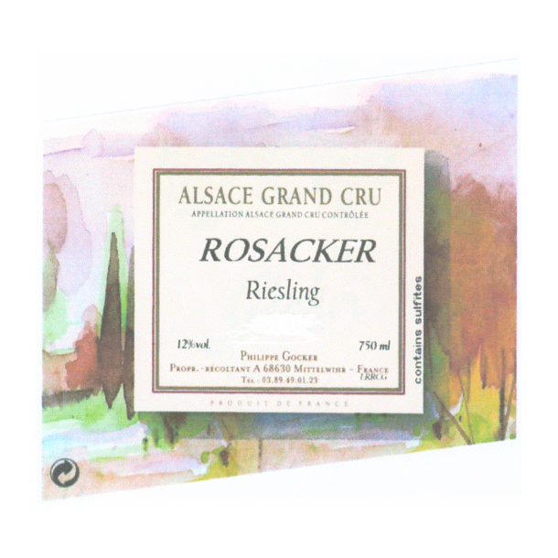 Domaine Philippe Gocker Alsace Riesling Grand Cru