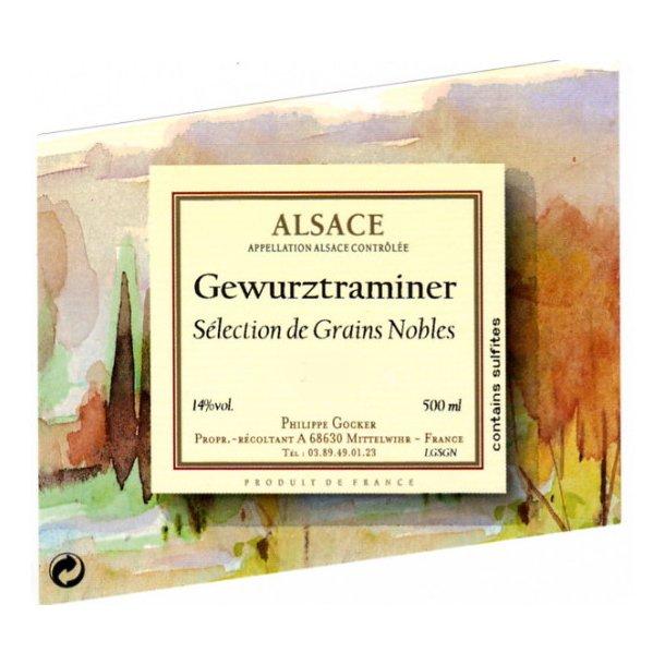 Domaine Philippe Gocker Alsace Gewurztraminer Selection Grains Nobles årgang 1998
