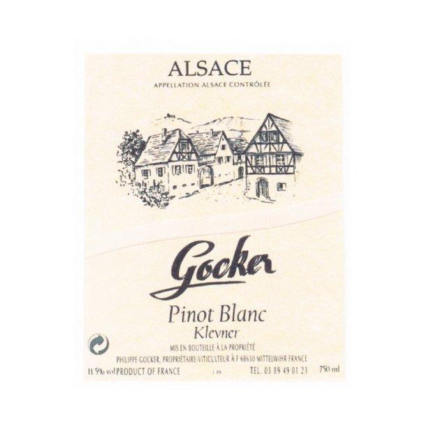 Domaine Philippe Gocker Alsace Pinot Blanc årgang 2015