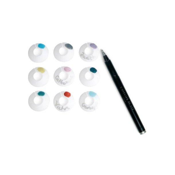 Glaspaletter / Chic Glass® til mærkning af vinglas