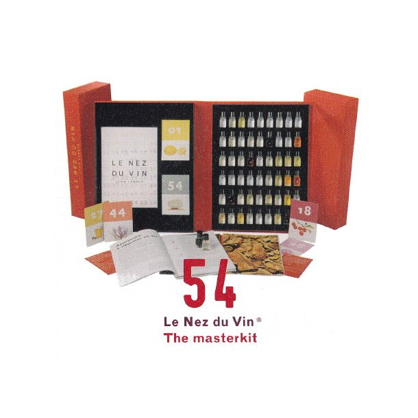 Duftsæt til vin / Le Nez du Vin® 54