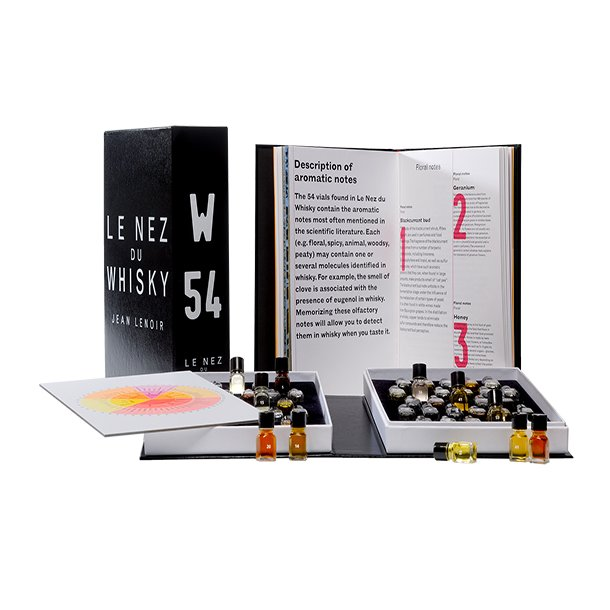 Duftsæt til whisky fra Le Nez du Vin® 54