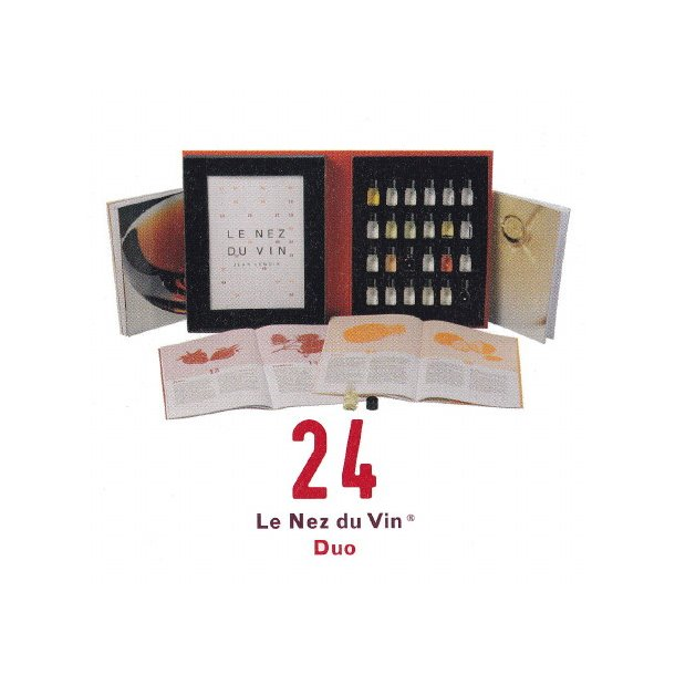 Duftsæt til vin / Le Nez du Vin® 24