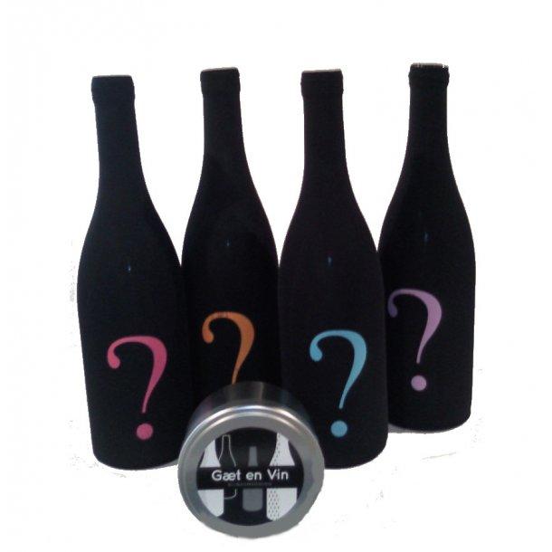 Gæt en Vin blindsmagningsstrømpe