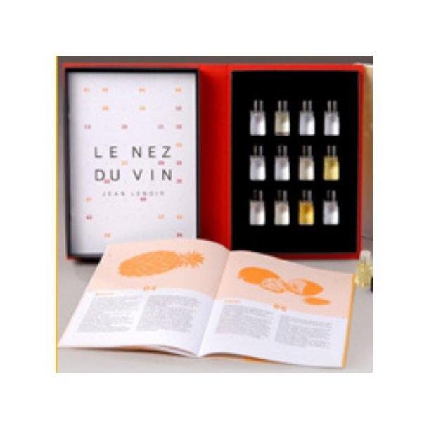 Duftsæt til vin / Le Nez du Vin® 12 Hvidvin
