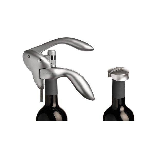 Proptrækker / Tire-Bouchon du Soir (Sølvmetallic) vinåbner