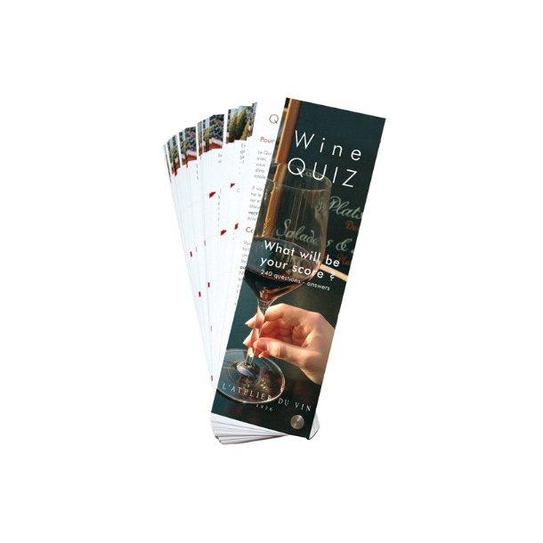 Vinquiz / Quiz du Vin Ny udgave