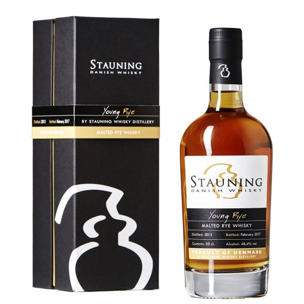 Stauning Whisky Young Rye februar 2018